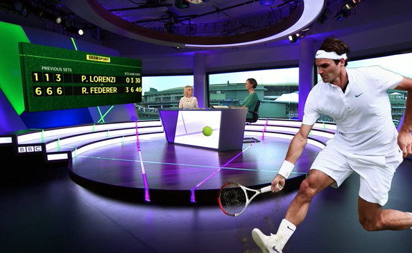 BBC Sport's 3D graphics for Wimbledon 2014