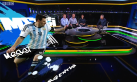 BBC Sport's FIFA World cup 2014 virtual graphics with Stype kit & Vizrt