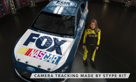 NASCAR on Fox Sports with Augmented Reality