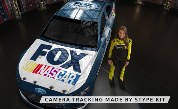 Nascar On Fox Sports With Augmented Reality Stype Grip
